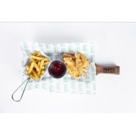 Куриные пальчики с картофелем фри